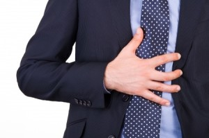 Heartburn is also the most common symptom of GERD.